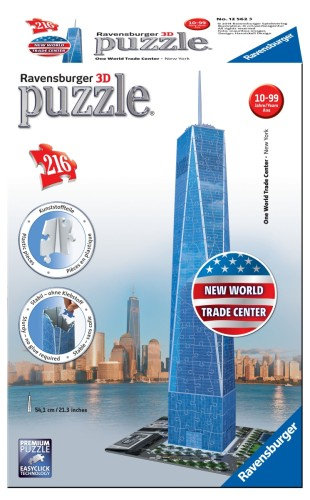 Puzzel One World Trade Center 3d: 216 stukjes (125623)