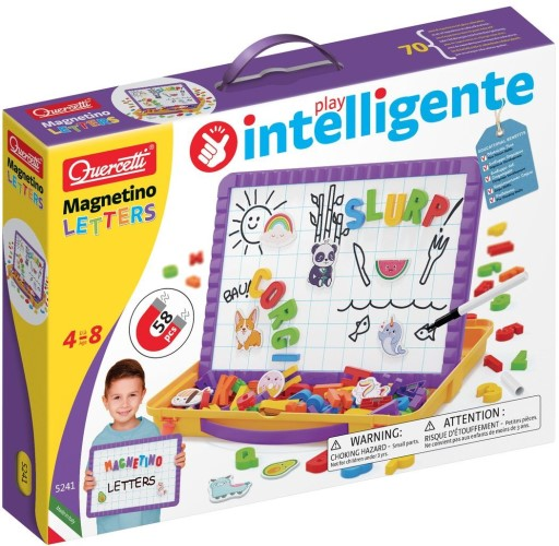 Magneetbord Quercetti letters: 65-delig