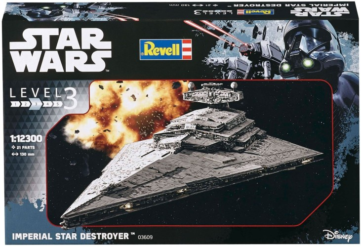 Imperial Star Destroyer Revell: schaal 1:12300 (03609)