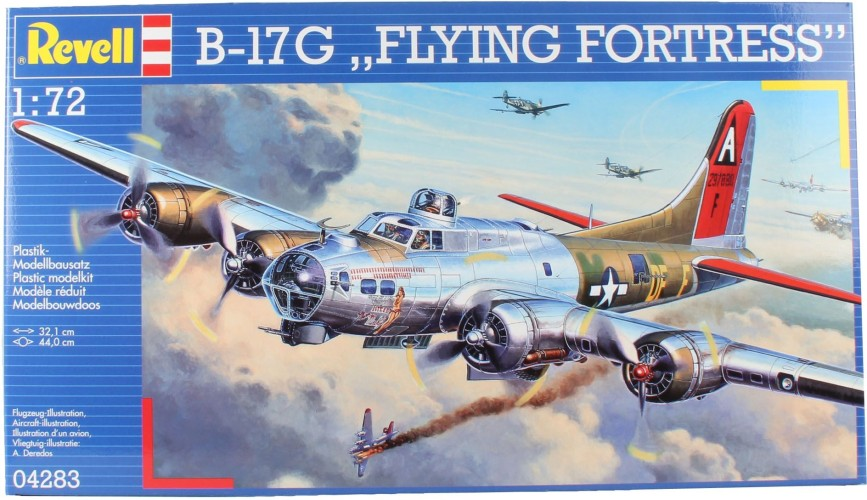 B-17G Flying Fortress Revell: schaal 1:72