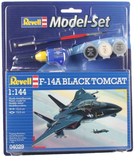 Model Set F-14A Black Tomcat Revell: schaal 1:144