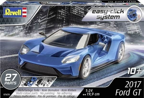 2017 Ford GT Revell: schaal 1:24