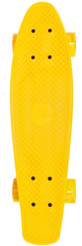 Skateboard Streetsurfing single: yellow 57 cm/ABEC7