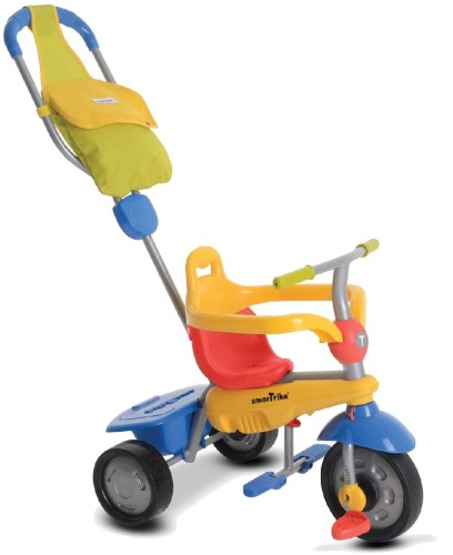 Driewieler SmarTrike Breeze GL Yellow