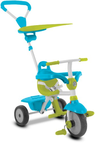 Driewieler SmarTrike Zip Blue/Green: 3 in 1