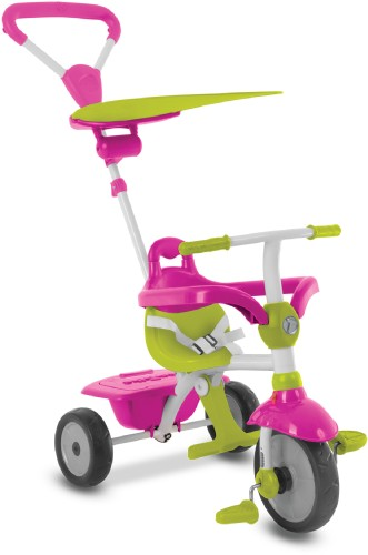 Driewieler SmarTrike Zip Pink/Green: 3 in 1