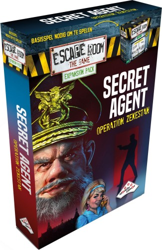 Escape Room: The Game expansion - Secret Agent