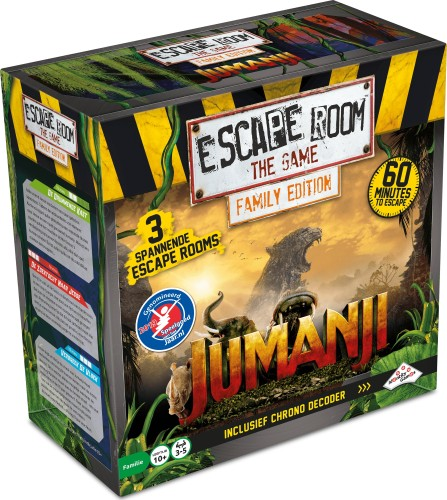 Escape Room: The Game Family Edition - Jumanji