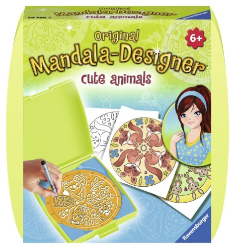 Mandala Designer Mini: Cute Animals (297665)