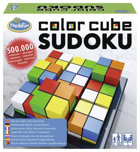 Color Cube Sudoku ThinkFun (763429)