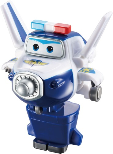 Speelfiguren Transform-A-Bots Super Wings: Paul
