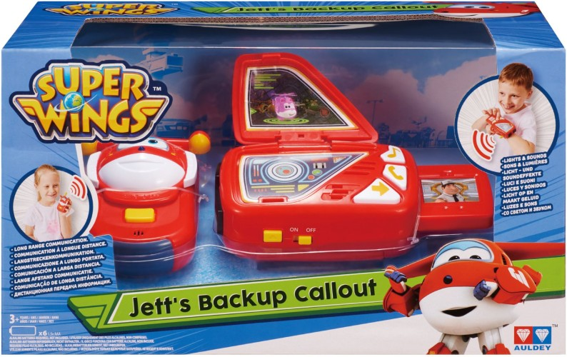 Speelfiguren Backup Callout Super Wings: Jett