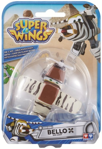 Speelfiguren Die-Cast Super Wings: Bello