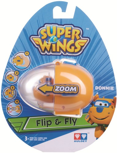Speelfiguren Flip `n` Fly Super Wings: Donnie