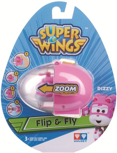 Speelfiguren Flip `n` Fly Super Wings: Paul