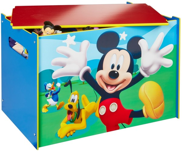 Speelgoedkist hout Mickey Mouse: 60x40x40 cm