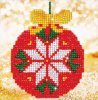 Red-Bauble-Picture-Diamond-Dotz:-13x13-cm-DD2021